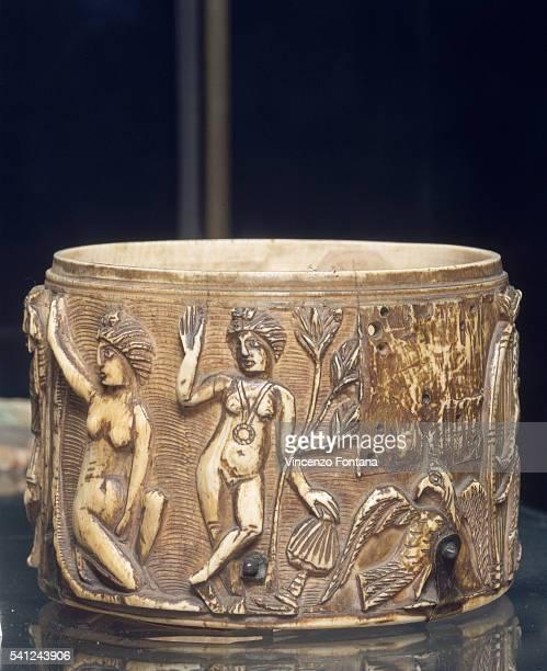Italian Medieval Ciborium With Artemisia
