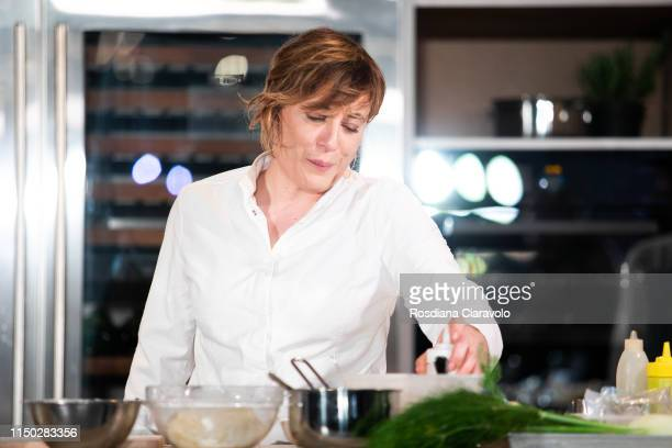 Italian Michelin Star Chef Antonia Klugmann attends the Cibo A Regola D'Arte 2019 at Fabbrica del Vapore on May 19 2019 in Milan Italy
