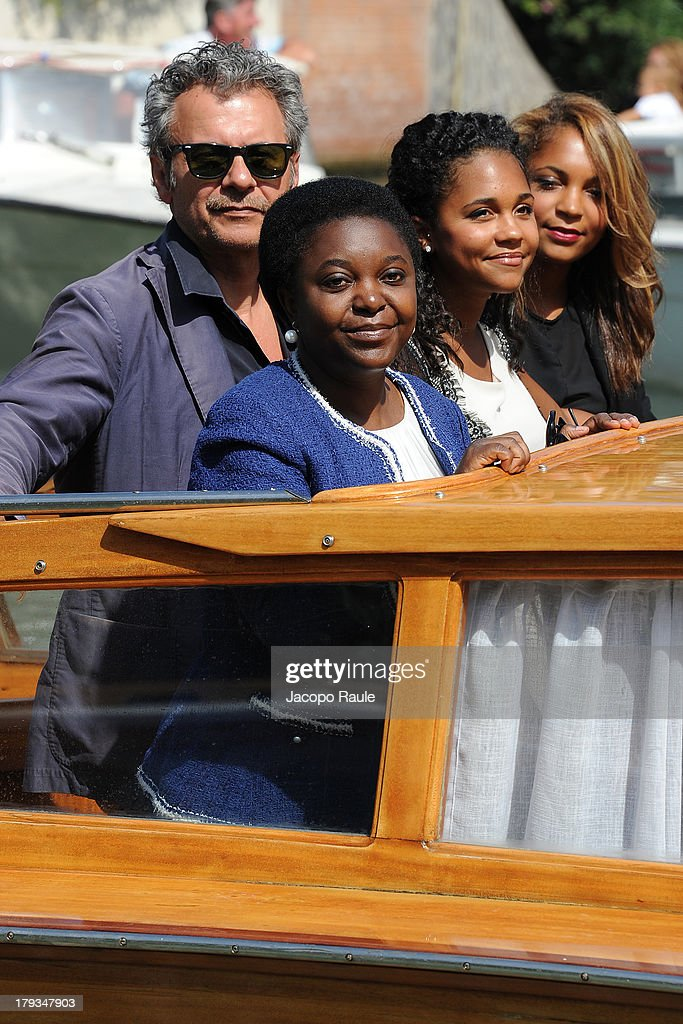 Celebrity Sightings - Day 6 - The 70th Venice International Film Festival : News Photo