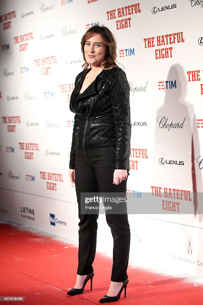 'The Hateful Eight' Red Carpet in Rome