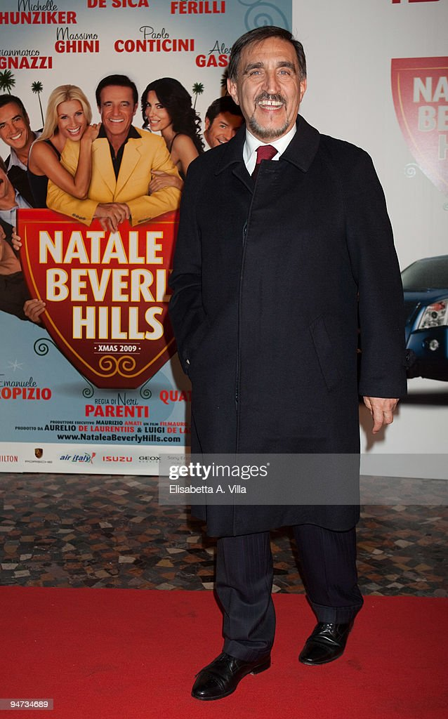 """Natale A Beverly Hills"": Rome Premiere"