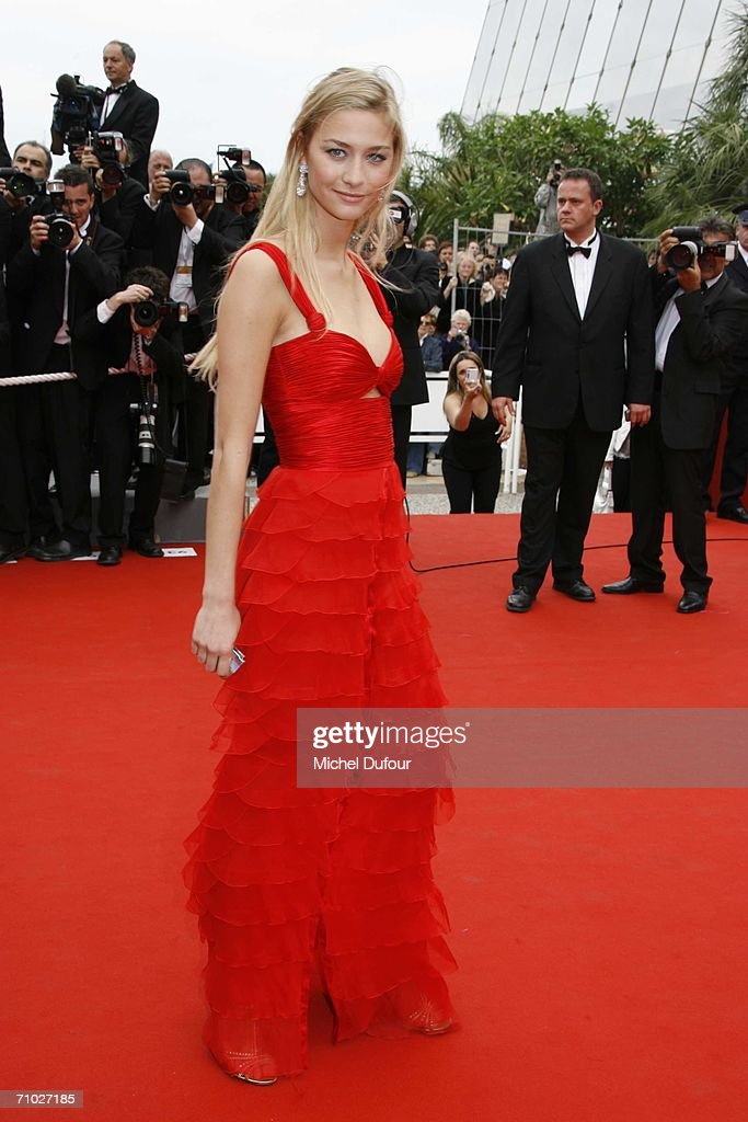 Italian model Beatrice Borromeo arrives for the screening of 'Babel' on the red carpet at the Palais des Festivals as part of the 59th International Cannes Film Festival on May 23, 2006 in Cannes, France.