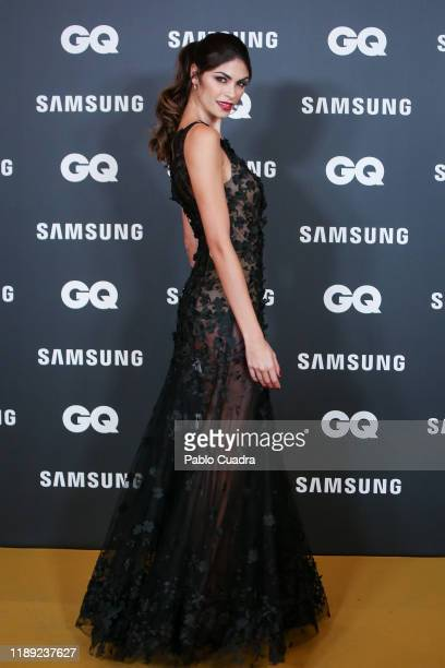 Italian model Linda Morselli attends 'GQ Men Of The Year' awards 2019 at Westin Palace Hotel on November 21 2019 in Madrid Spain