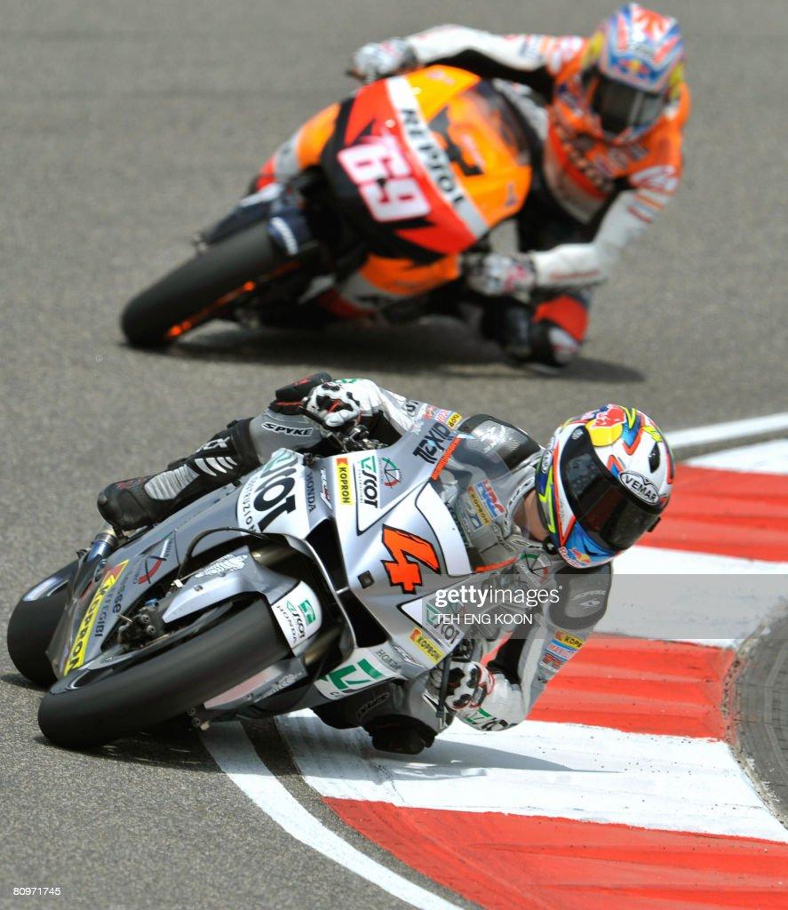 Italian MotoGP rider Andrea Dovizioso of : News Photo