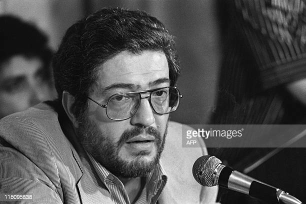 Italian Movies maker Ettore Scola speaks at a press conference during the 30th International Fillm Festival in Cannes on May 20, 1977. AFP PHOTO...