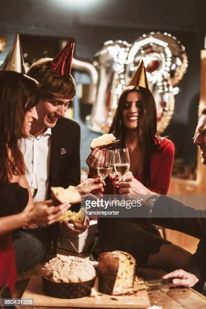 italian new year party