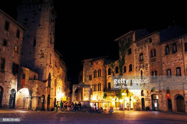 italian nightlife - yeowell stock pictures, royalty-free photos & images