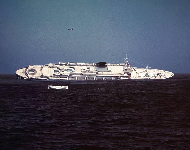 MA: 25th July 1956 - S.S. Andrea Doria Sinks