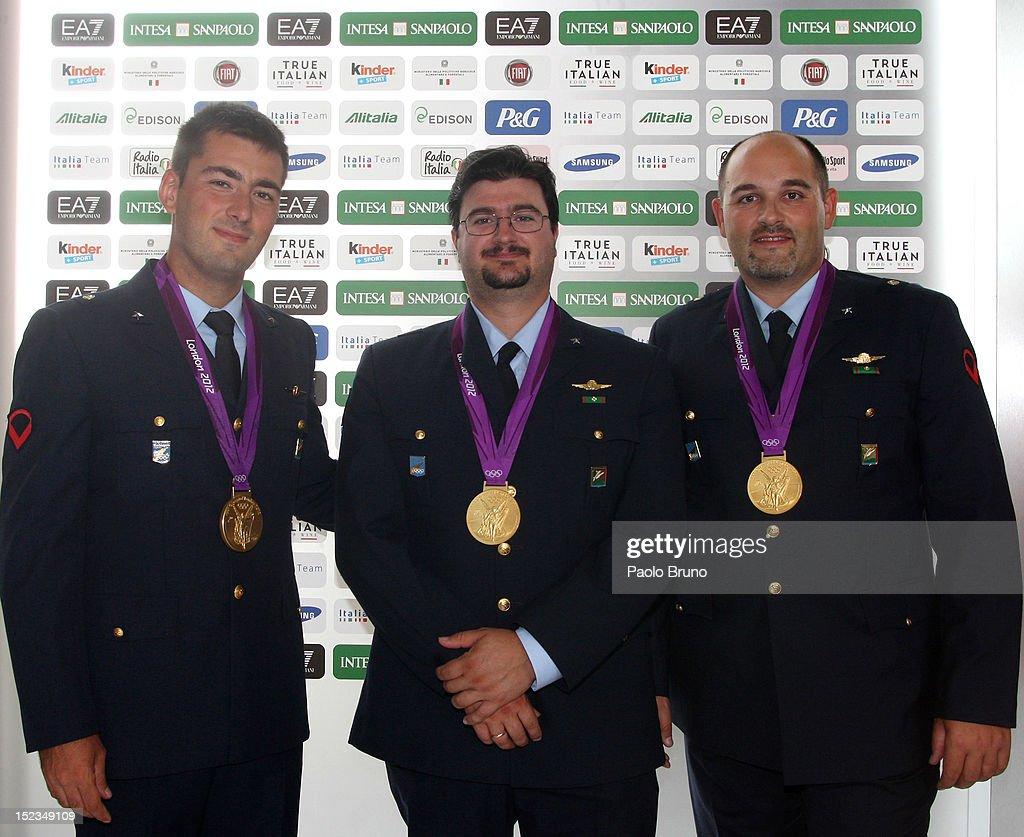 Italian Olympics & Paralympics Medalists Victory Parade : News Photo