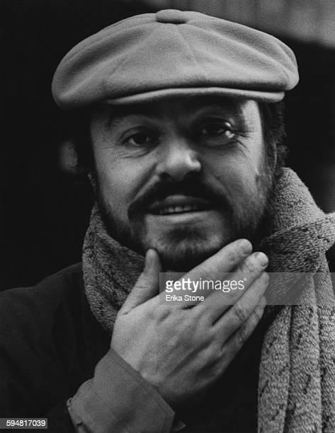 Italian operatic tenor Luciano Pavarotti , circa 1975.