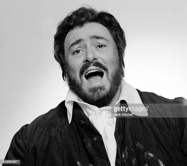 Italian operatic tenor Luciano Pavarotti photographed in New York City in September 1985 Photo by Jack Mitchell/Getty Images