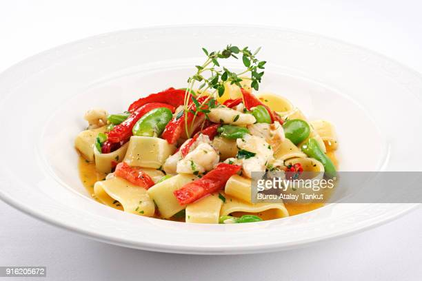 Italian Pasta with Vegetables and Beans