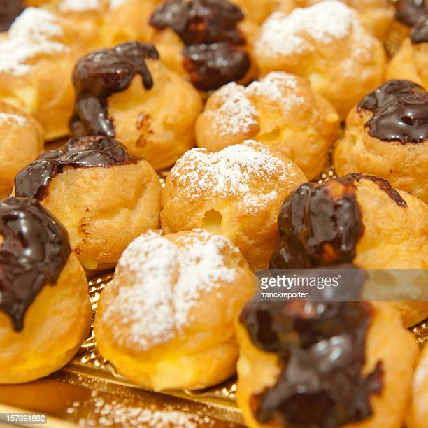 Italian pastries - Cream and choco patisserie