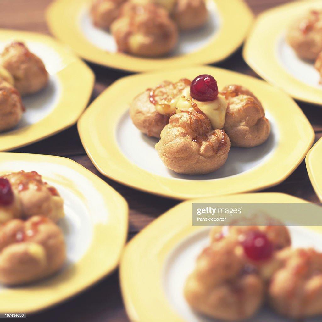 Italiano pastries : Foto de stock
