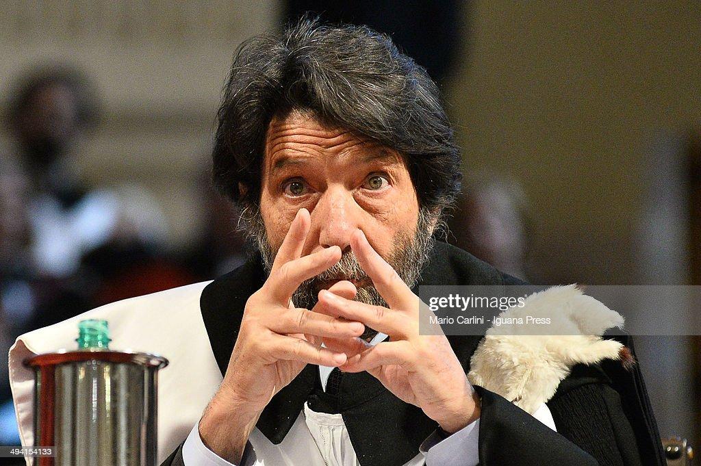 Massimo Cacciari Receives Laurea Ad Honorem