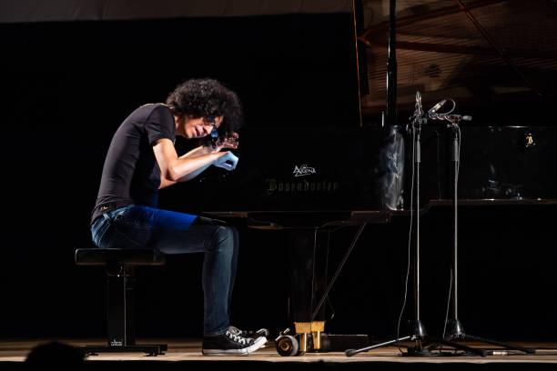 ITA: Giovanni Allevi Performs In Salerno