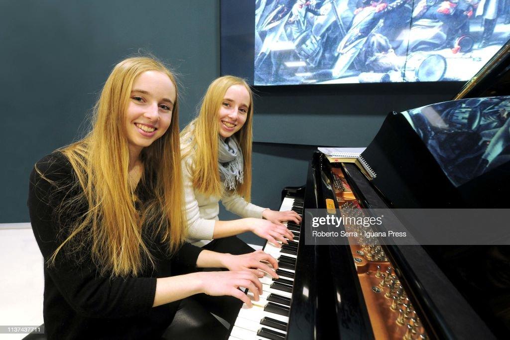 ITA: Eleonora And Beatrice Dallagnese Perform In Bologna