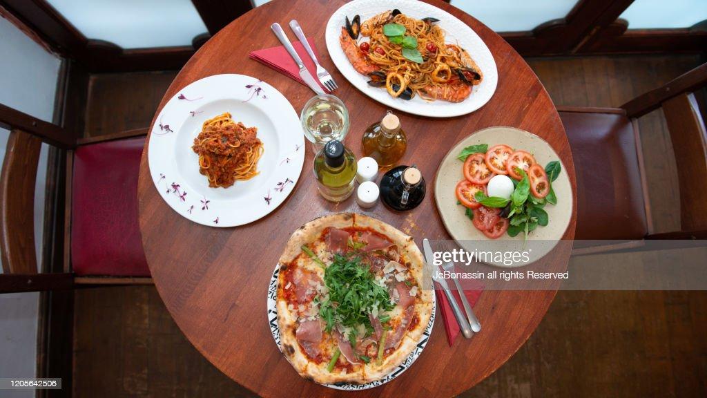 Italian Plates : Stock Photo