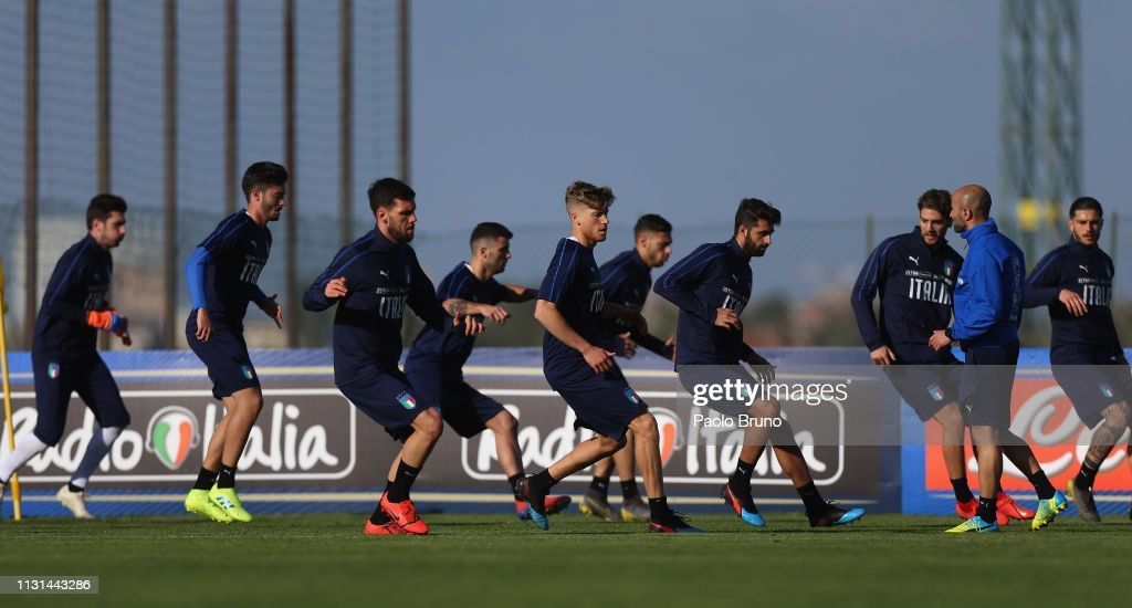 ITA: Italy U21 Training Session