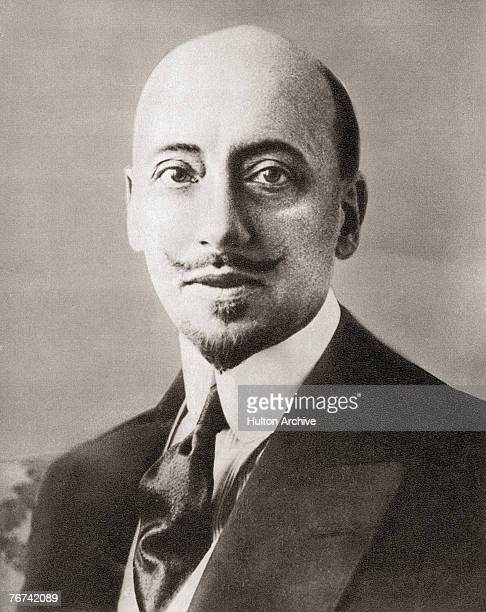 Italian poet and playwright Gabriele D'Annunzio circa 1905