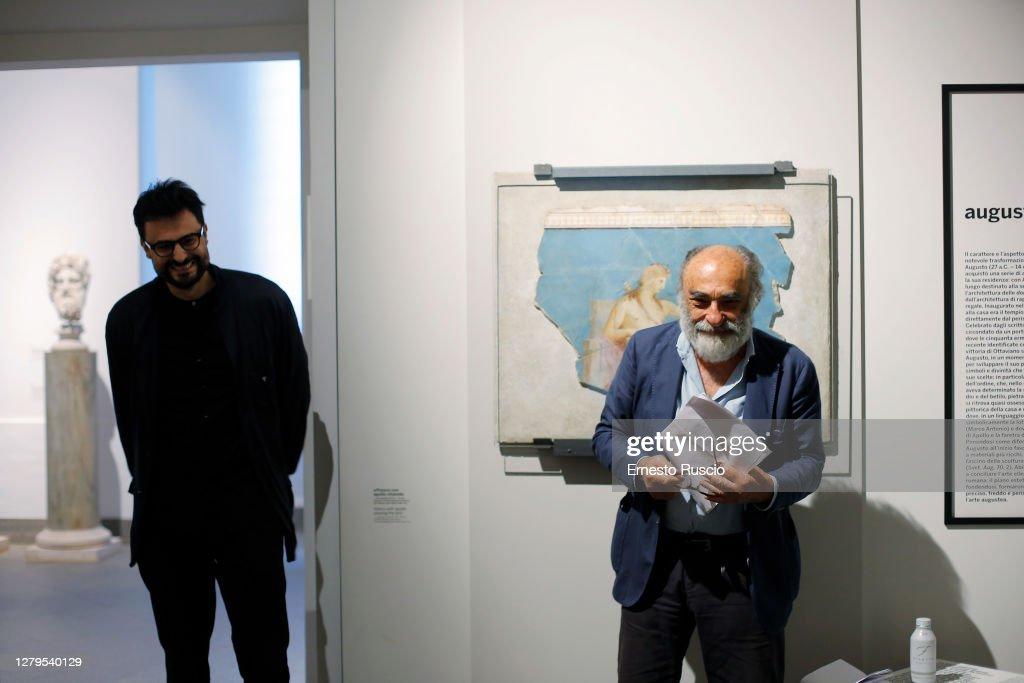 Alessandro Haber Reads Gabriele Tinti Poems : News Photo