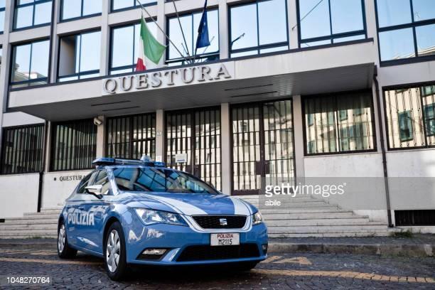 Italian Police car