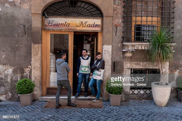 Italian police on behalf of the Anti-Mafia Investigative Directorate, impounded famed Rome restaurant Assunta Madre, in the central Via Giulia, and...