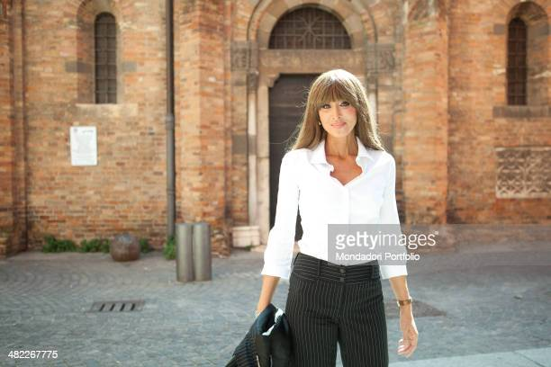 Italian politician and lawyer Anna Maria Bernini walking in piazza Santo Stefano Anna Maria Bernini has been recently appointed Minister of European...