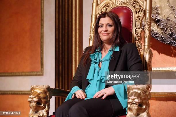 Italian politics Jole Santelli guest of the television program Telecamere. Rome , May 23rd, 2013