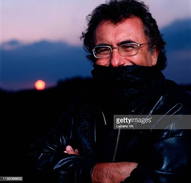 Italian pop singer Albano Carrisi Cellino San Marco Brindisi Italy 1998