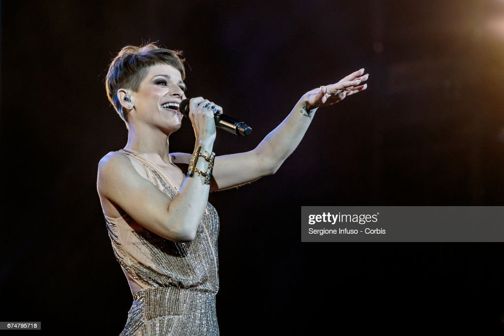 Alessandra Amoroso Performs In Verona
