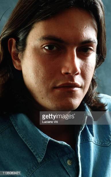 Italian pop singer Cristiano De Andrè Rome Italy circa 1988
