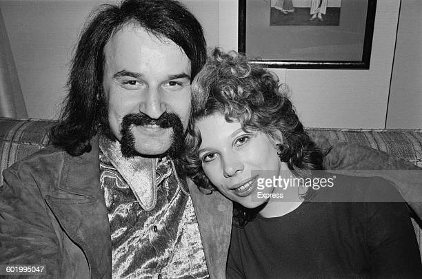 Italian pop singer Giorgio Moroder with his wife Heidi UK 7th January 1971