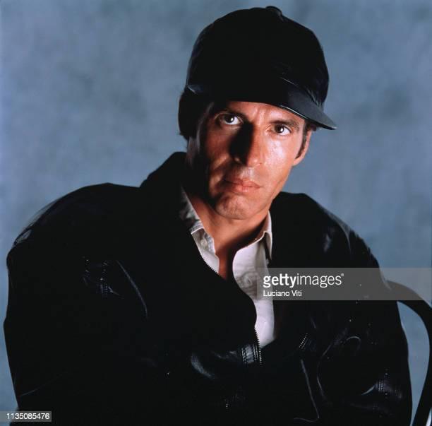 Italian pop singer-songwriter Claudio Baglioni, Rome, Italy, circa 1990.
