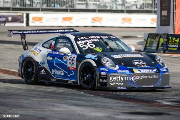 Italian Porsche Carrera Cup Race Exhibitions during Motorshow 2017 at Area 48 Motul in Bologna Italy on 3 December 2017