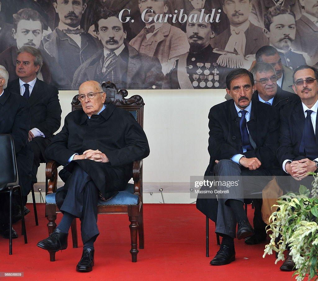 Italian President Giorgio Napolitano Visits Genova - Day Two