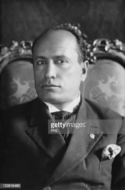 Italian Prime Minister Benito Mussolini circa 1925 Mussolini later established a fascist dictatorship in Italy