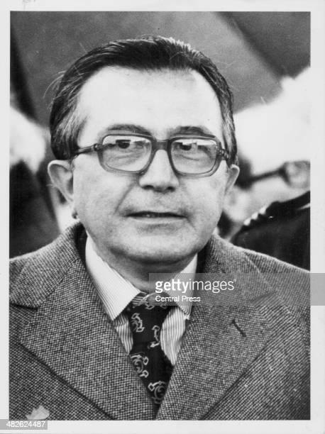 Italian Prime Minister Giulio Andreotti June 21st 1977