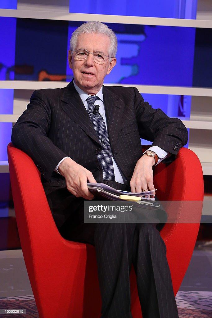 Mario Monti Continues Electoral Campaign