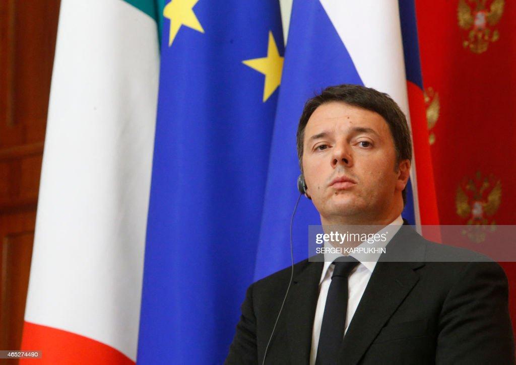 RUSSIA-ITALY-POLITICS-DIPLOMACY : News Photo