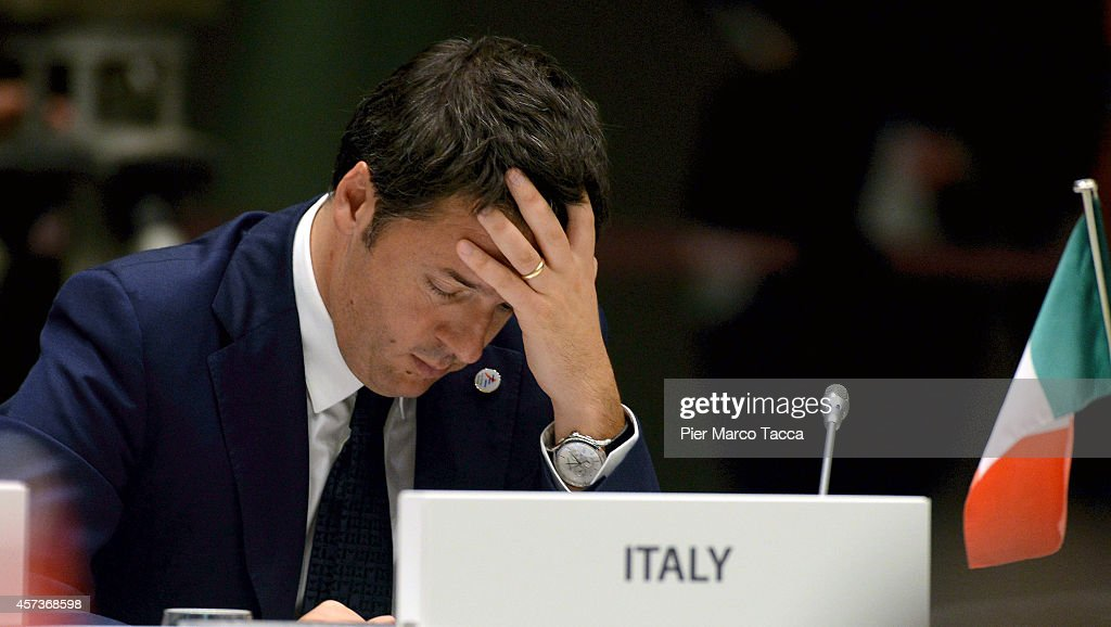 10 ASEM Summit With 50 Heads Of State From Europe And Asia - Milan : News Photo