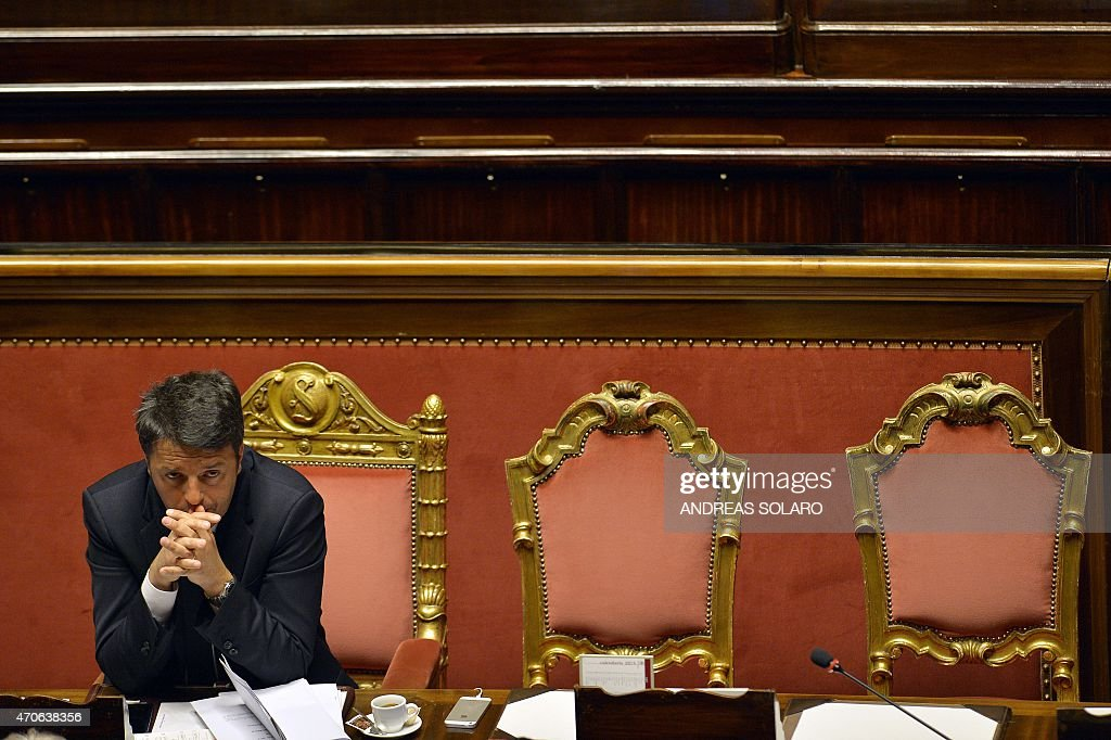 ITALY-POLITICS-IMMIGRATION : News Photo