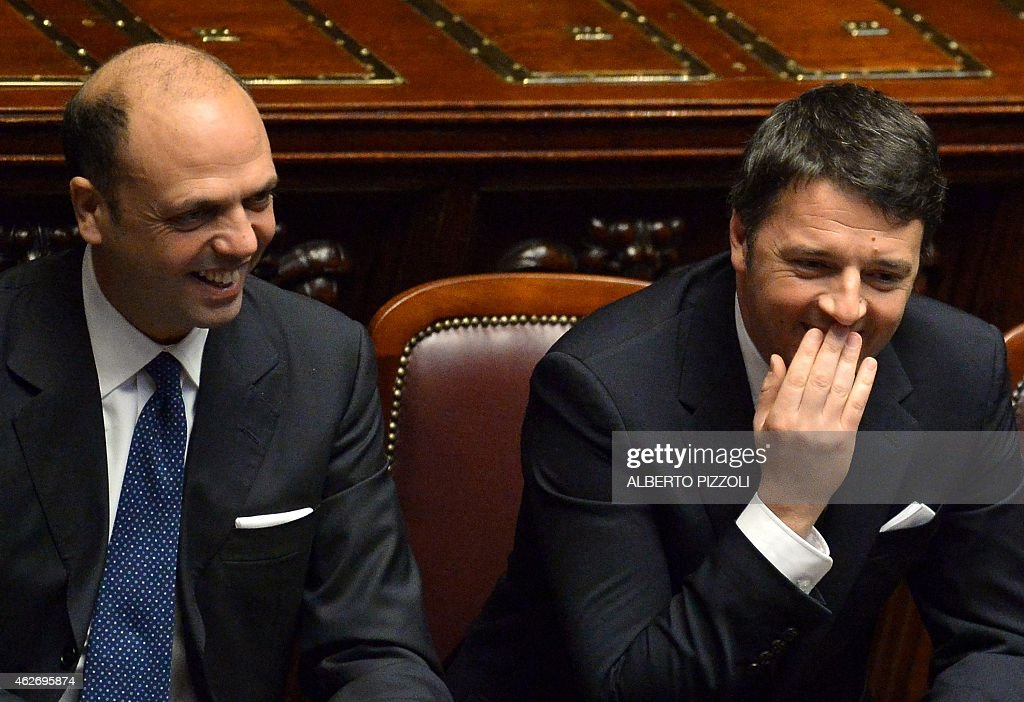 ITALY-POLITICS-PRESIDENT-CEREMONY : News Photo