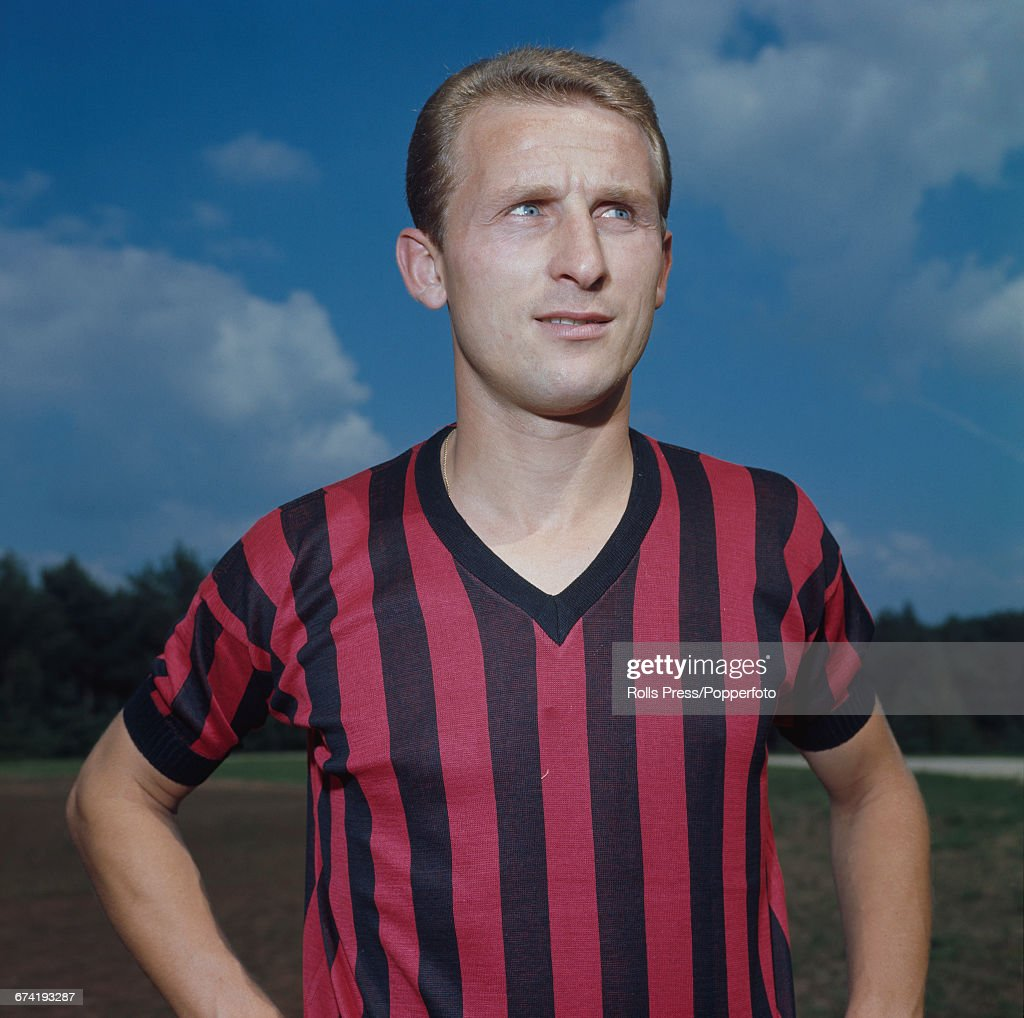 Giovanni Trapattoni Of AC Milan : News Photo