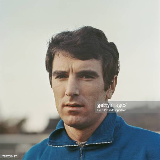Italian professional footballer and goalkeeper with SSC Napoli Dino Zoff pictured during a training session in Italy in 1970
