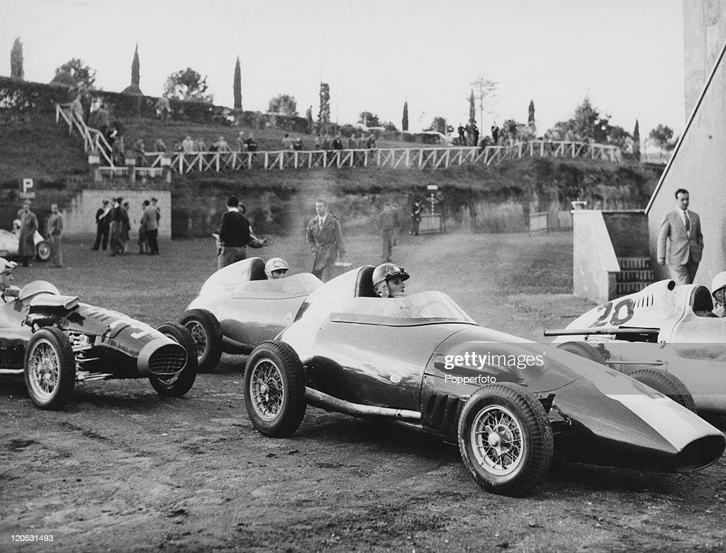 De Filippis Competes In Formula Junior : News Photo