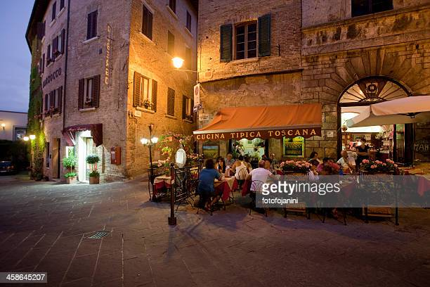 italian restaurant - siena italy stock pictures, royalty-free photos & images