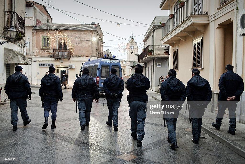Italian Immigrant Riot Aftermath : News Photo