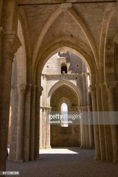 Italian San Galgano Ruin Cathedral