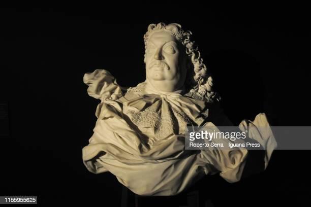 Italian sculptor and artist Gian Lorenzo Bernini work at the Museo della Pilotta of the Complesso Monumentale della Pilotta on June 14 2019 in Parma...